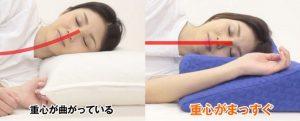 横向き寝専用枕YOKONE2