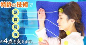 横向き寝専用枕YOKONE4