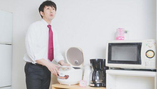 日本酒振りかけで再炊飯!固いご飯を柔らかくする方法