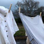 雨に濡れた洗濯物は殺菌すすぎを2回やれば臭くならない